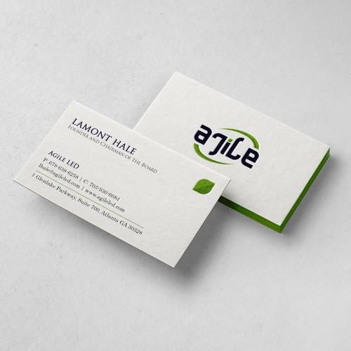 Agile Business Card