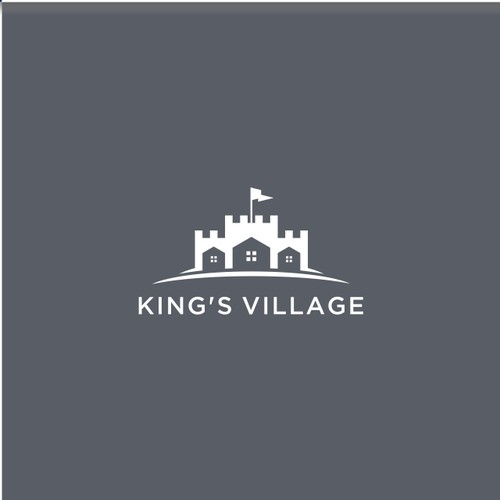 CLEVER LOGO DESIGN FOR KINGS VILLAGE