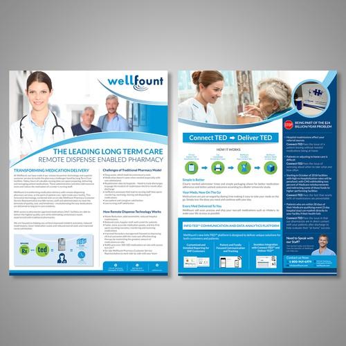 Healthcare Pharmacy Flyer