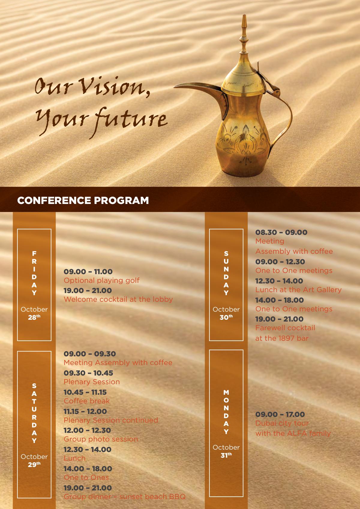 Update ALFA information brochure