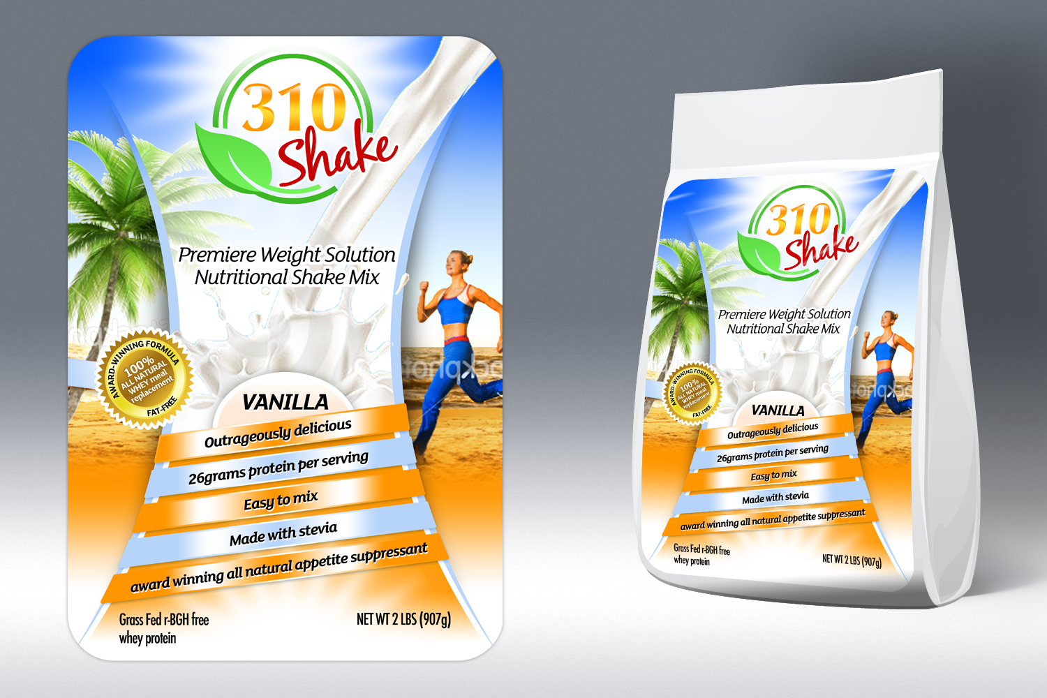 New product packaging wanted for 310 Nutrition
