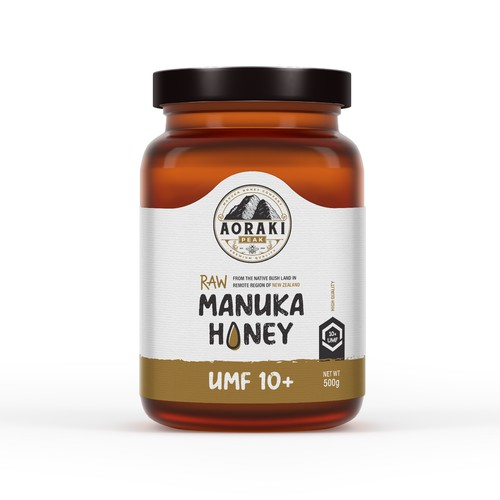 Manuka honey design concept