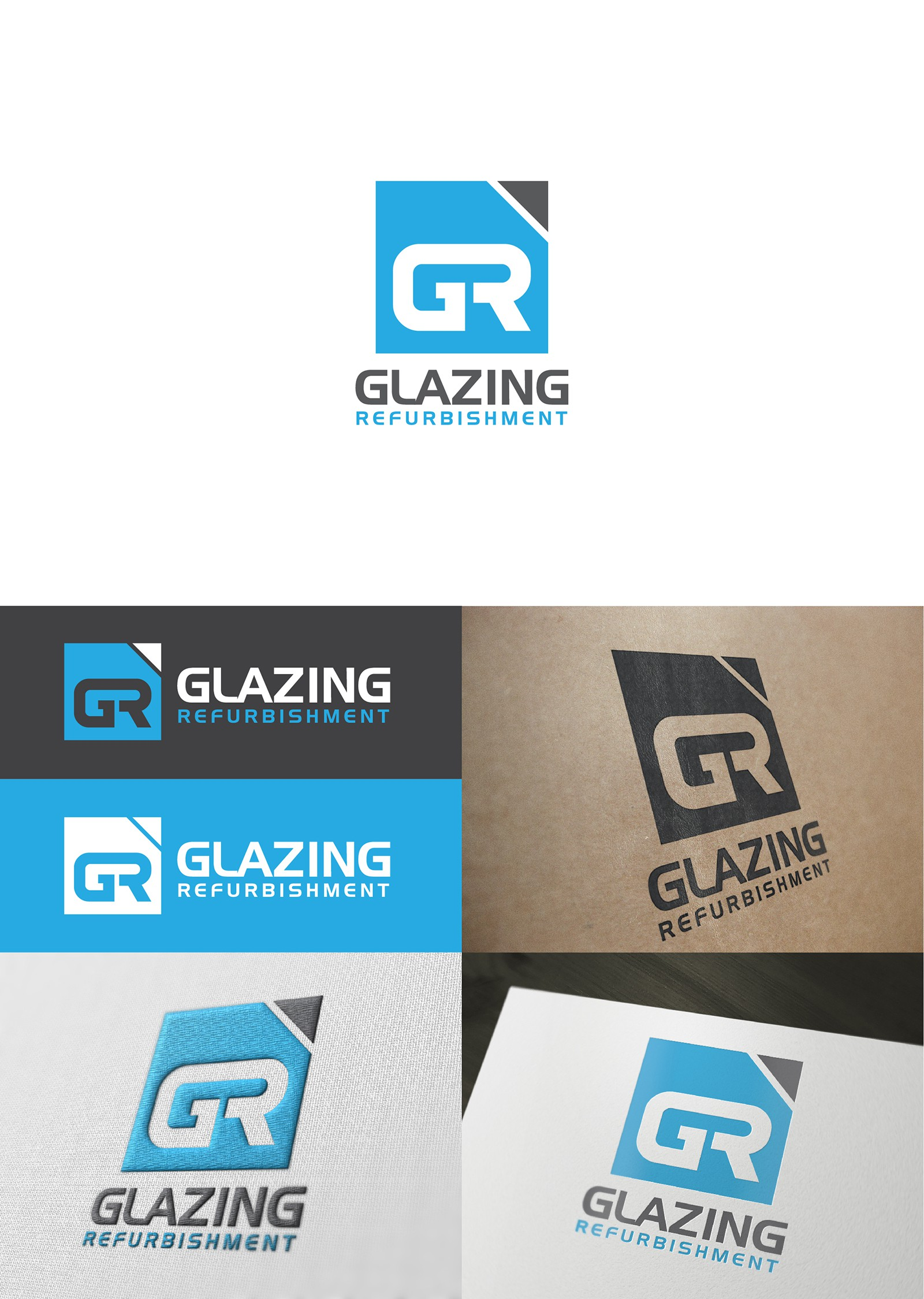 Create the next logo for Glazing Refurbishment