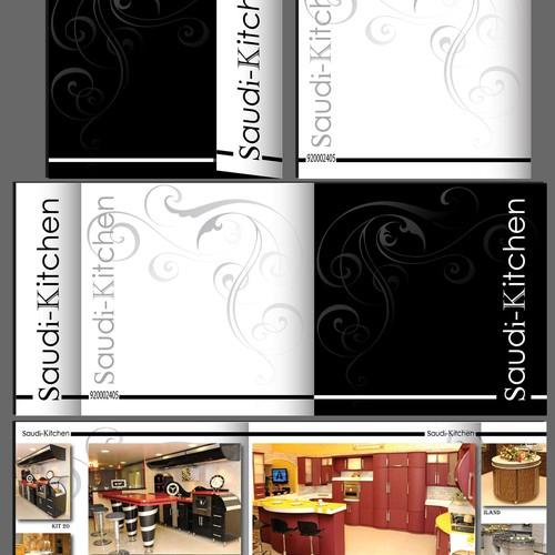 Kitchen Cabinet catalogue design