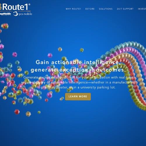Background design for website.