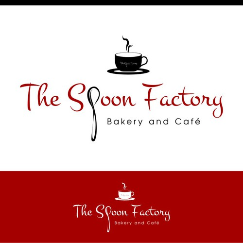 Create a new logo & sign design for my new store, The Spoon Factory