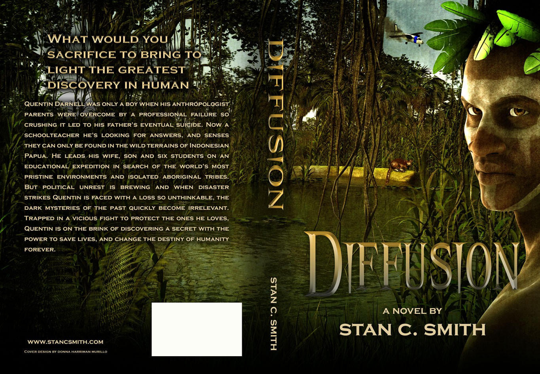 Create Ebook and Print Cover for Adventure/Sci-fi Novel