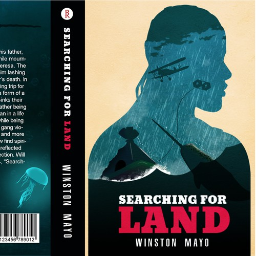 "Book Cover Design for ""Searching For Land"""