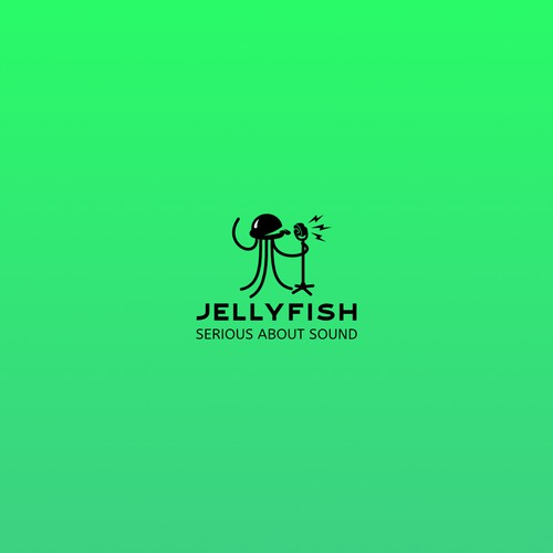 Jellyfish Logo Concept