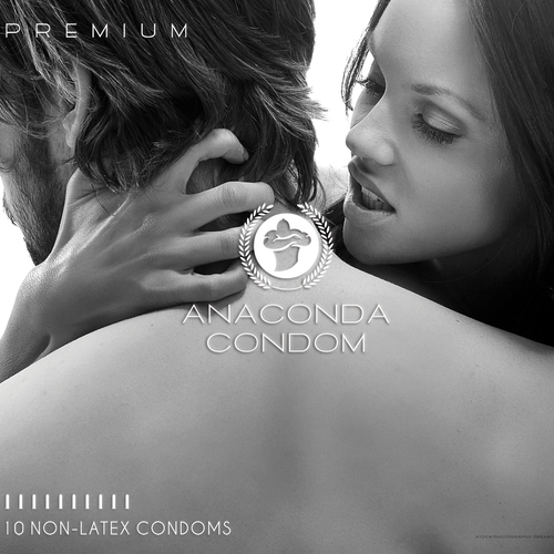 CONDOM packaging for Anaconda Condom