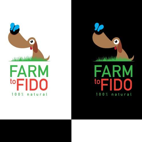 Logo concept for natural pet food