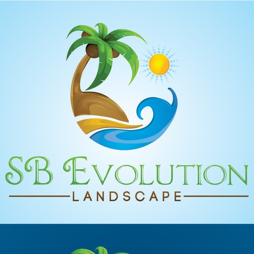 """Logo for my """"SB Evolution Landscape"""" Business!! =D"""