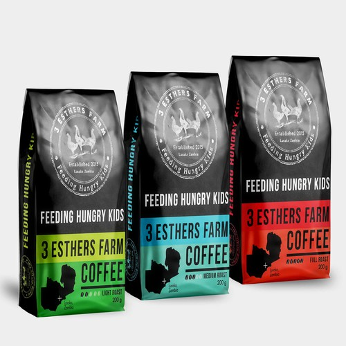 3 Esthers farm coffee