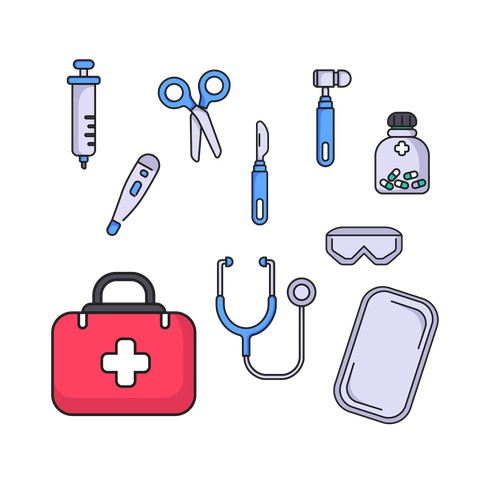 Illustration Doctor Play Toys for kids