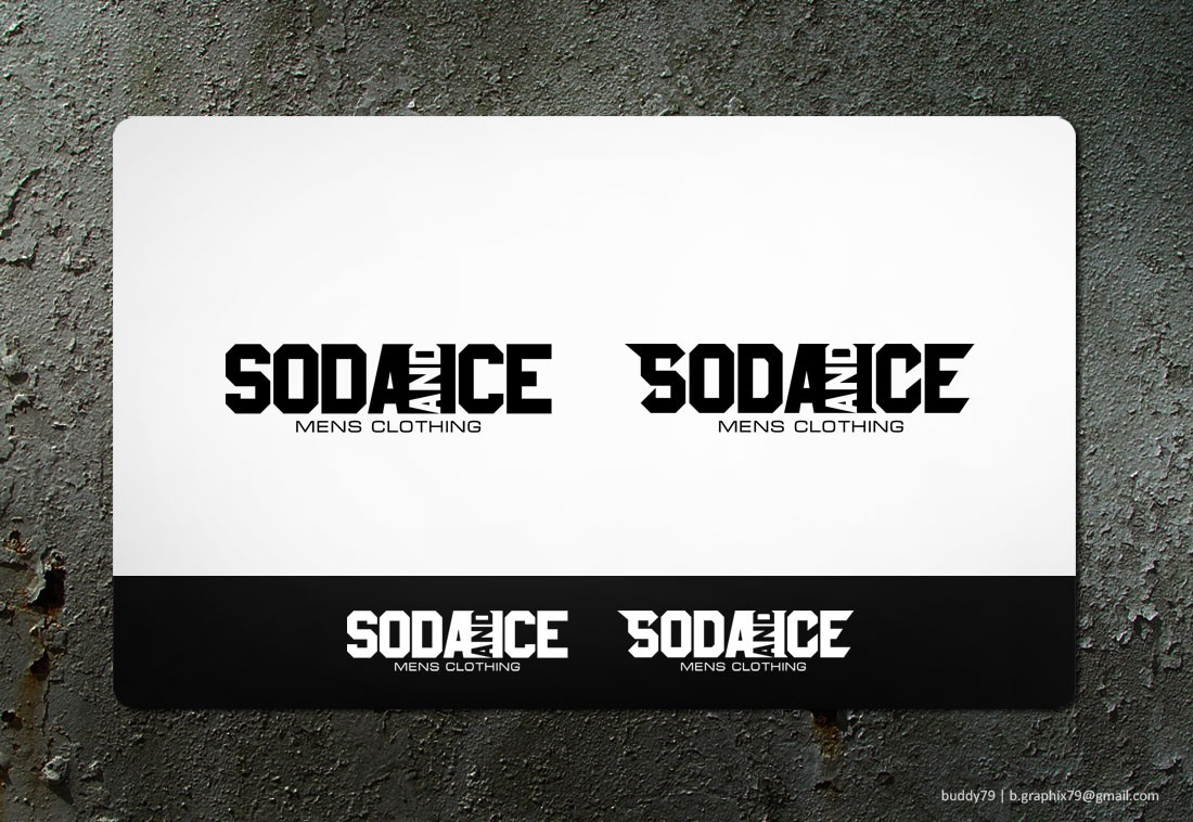 Help Soda and Ice with a new logo