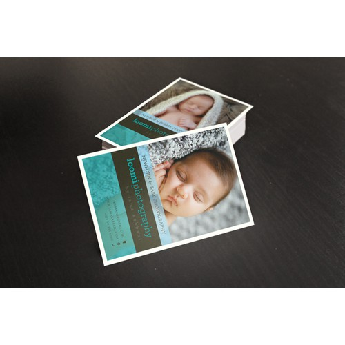 Loomi Photography needs a new postcard or flyer