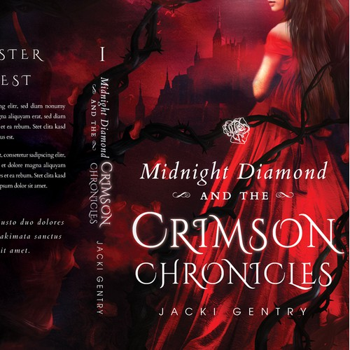 'Midnight Diamond and the Crimson Chronicles' by Jacki Gentry