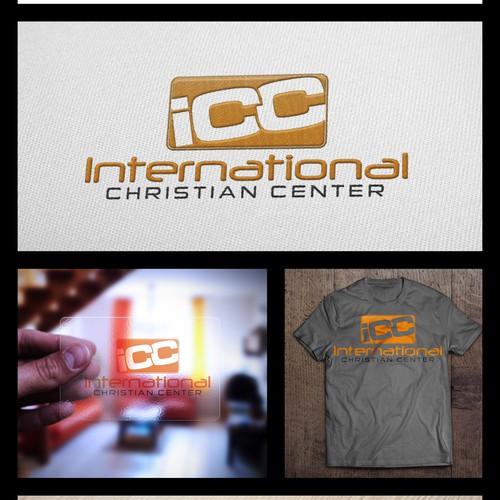 Modern new identity for International Christian Center emphasis on International