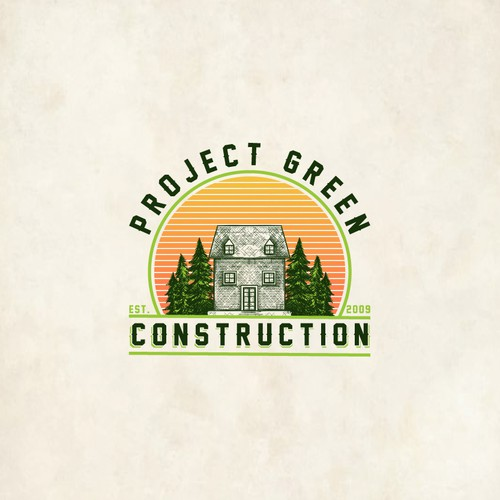 Project Green Construction Logo
