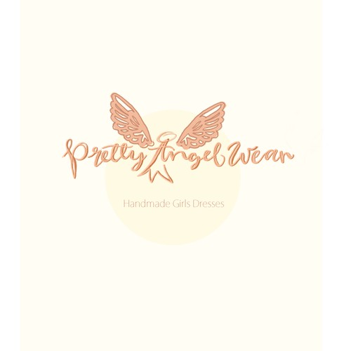 logo for handmade girls dreses