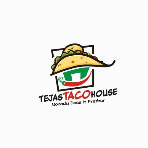 Holy Mexican Restaurant Logo!  Tejas Taco's needs a logo!!