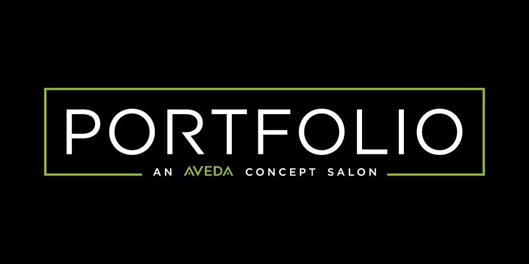 Create a stylish new logo for Portfolio, a Salon