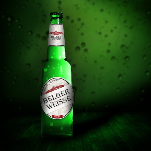 Help Belger Weisse with a new product label