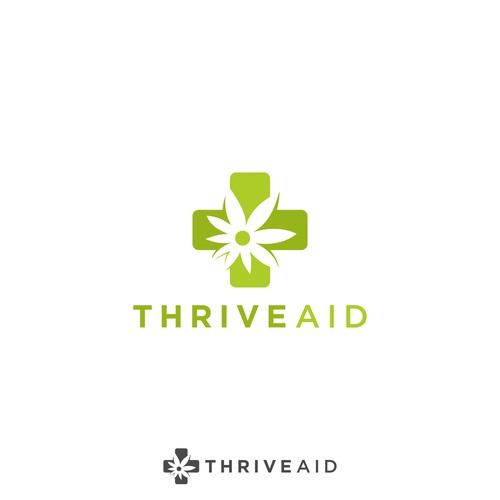 Logo for thrive aid