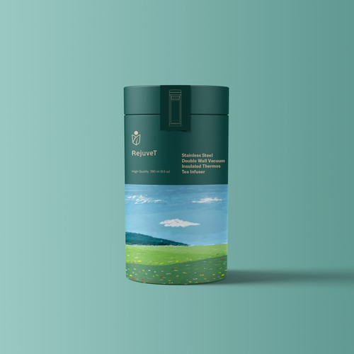 Packaging design for tea connoisseurs