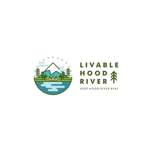 Logo for Livable Hood River
