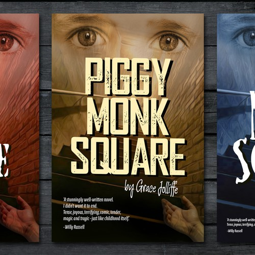 Piggy Monk Square book covers
