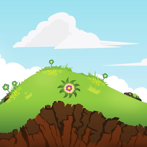 Iphone Game Design like Tiny wings