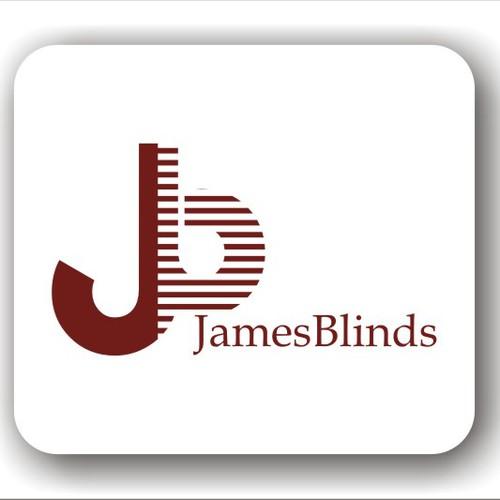 Biz Logo / window treatment small business
