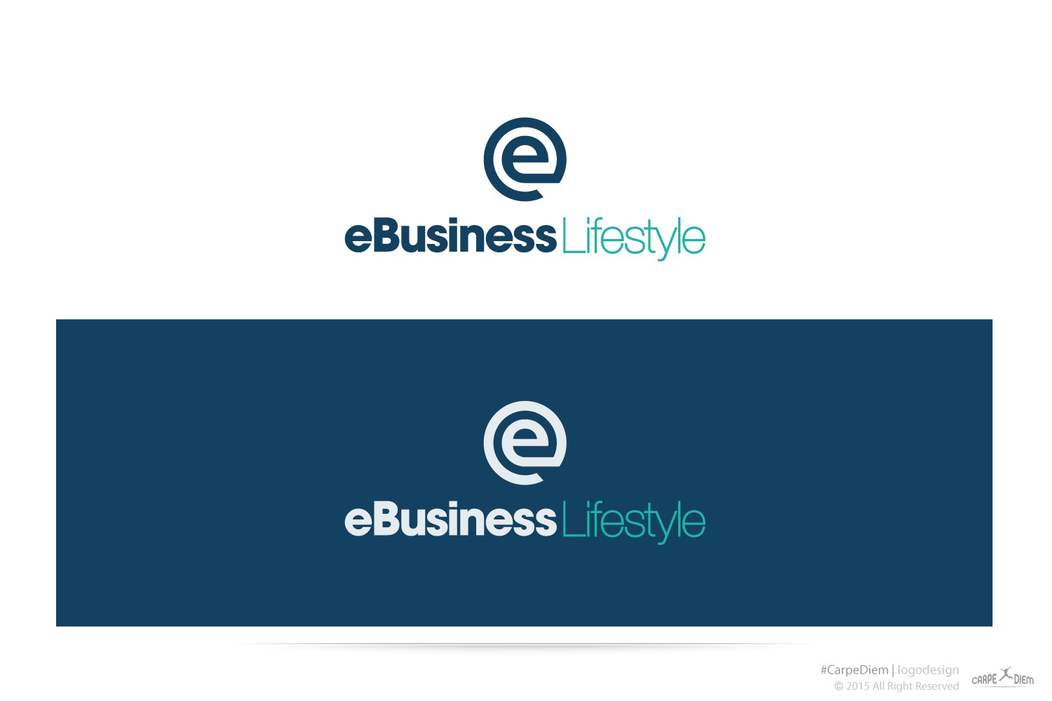 Design a simple, fun yet professional logo for our new blog - eBusiness Lifestyle