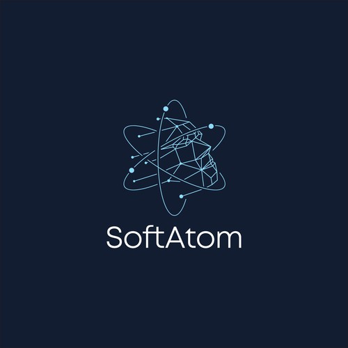 Logo concept for SoftAtom