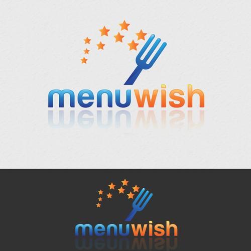 Create the next logo for Menu Wish
