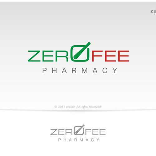 Help Zero Fee Pharmacy with a new logo