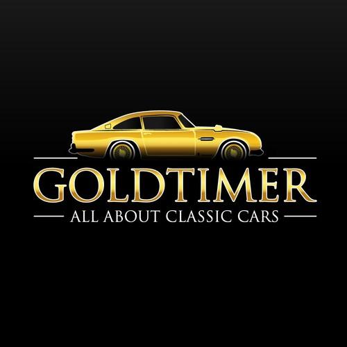 Classic car logo.