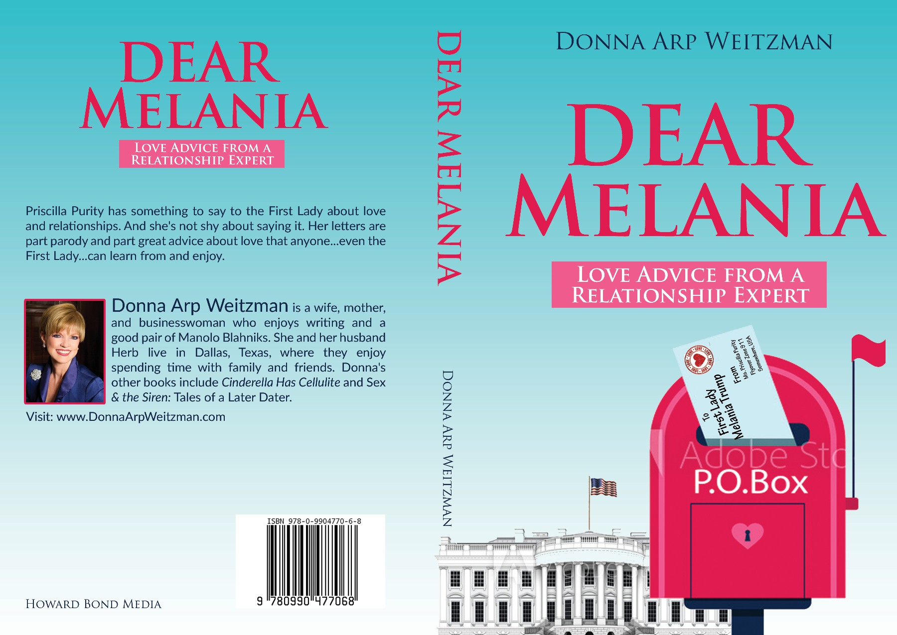 """Design a fun book cover for letters of """"love advice"""" to Melania Trump"""