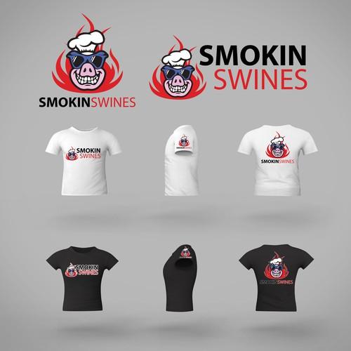 Smokin Swines - Logo Branding