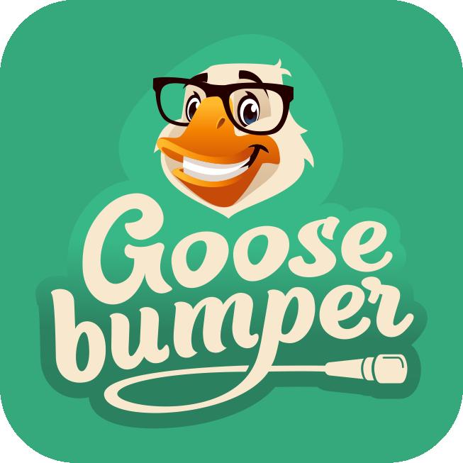 Goosebumper logo-design