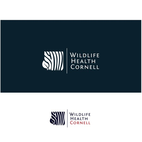 Design a logo for Wildlife Health Cornell, a new wildlife health and conservation program