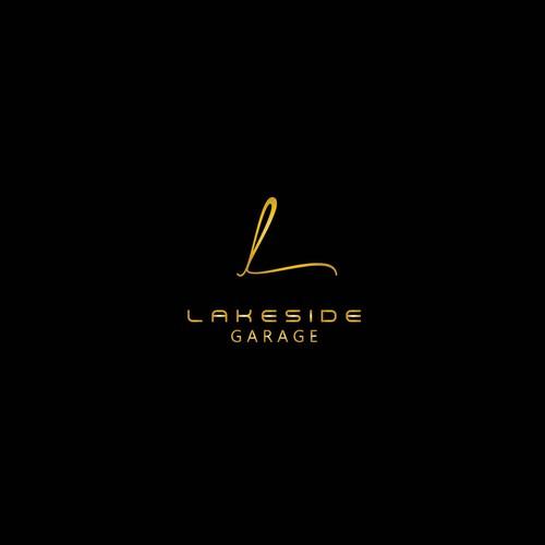 Letter mark Logo for Lakeside Garage