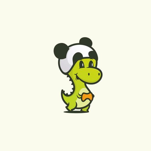 Logo for pandasaurus games