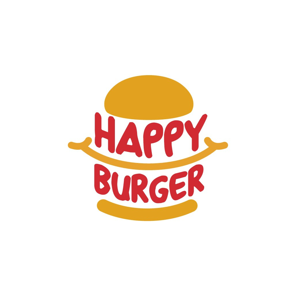 Happy Burger Logo