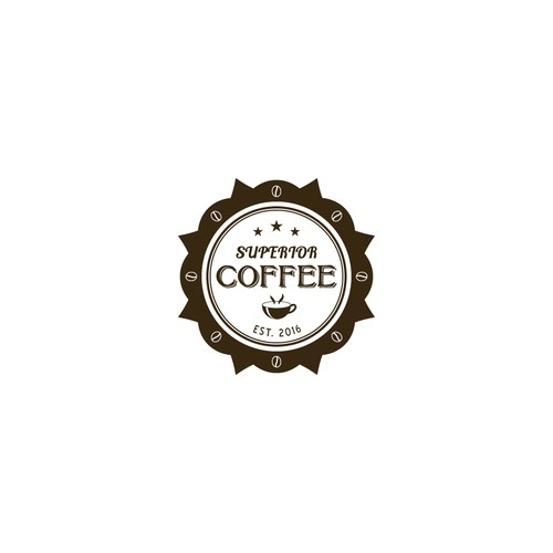 Emblem logo for coffee shop