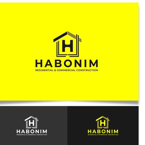 Home logo concept fot construction company