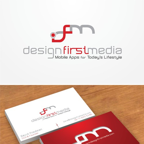 Design First Media Logo Design