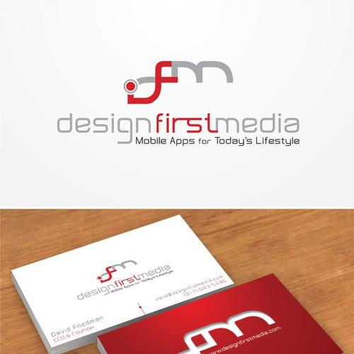 Design First Media Logo Design