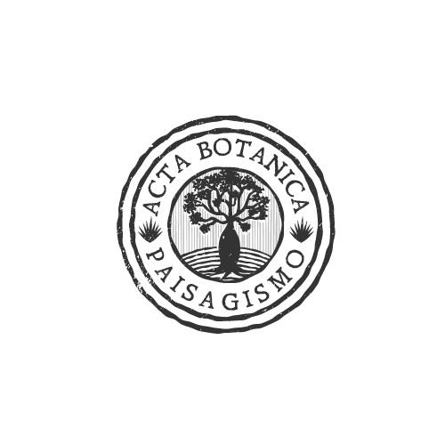 Logo for landscape design company